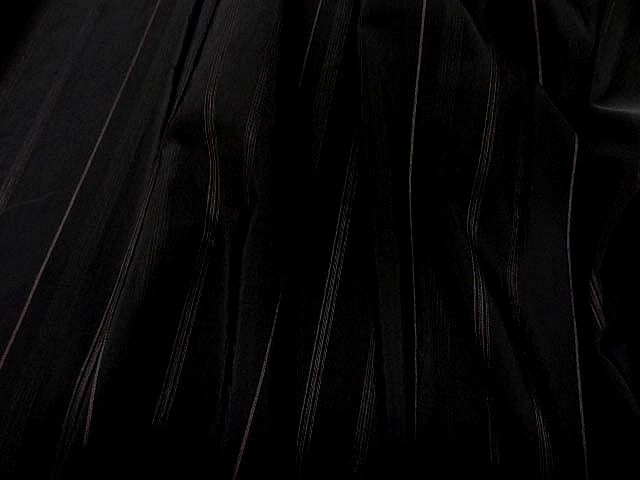 Taffetas noir rayures chair 1