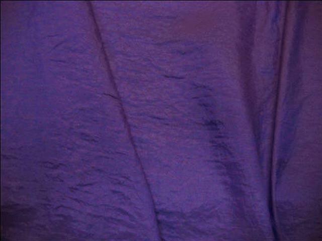 Taffetas polyester froisse violet bleu 2