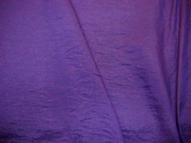Taffetas polyester froisse violet bleu 3