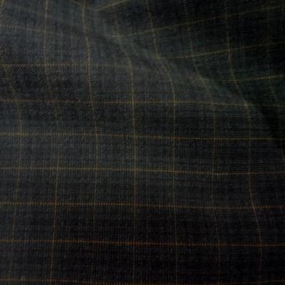 Tergal polyester noir a carreaux 4