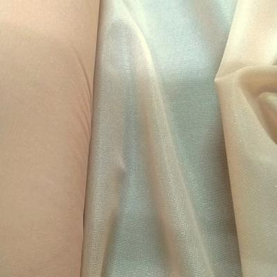 Thermocollant ou triplure polyester fin rose saumone 1