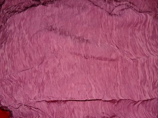 Tissu accordéon framboise rose 3