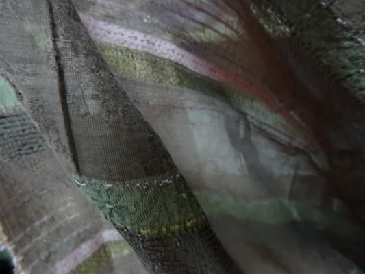 Tissu fin hindou rose lilas 2