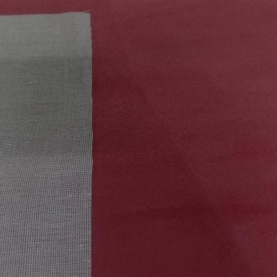 Tissu imitation daim bordeaux5