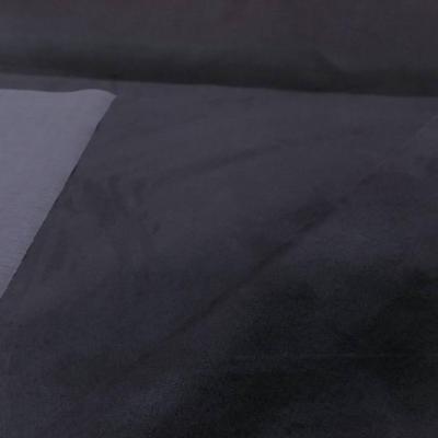 Tissu imitation daim ton gris anthracitee4