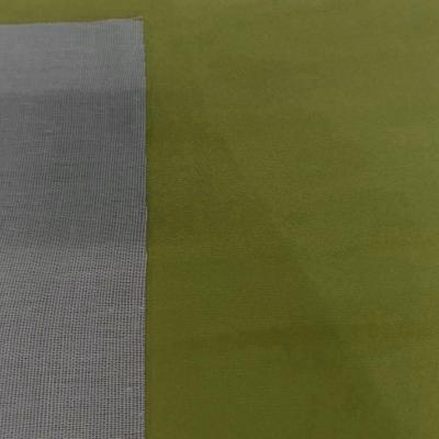 Tissu imitation daim vert olive5