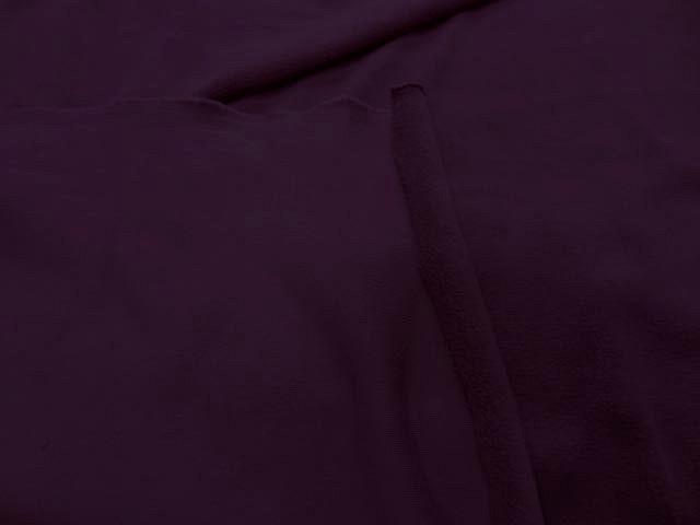 Tissu jersey coton jogging prune6
