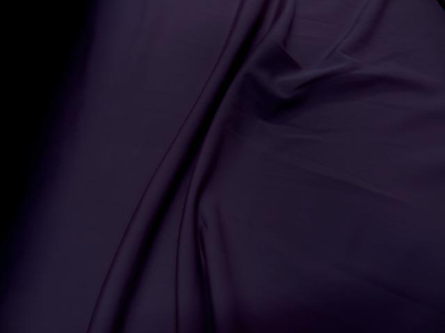 Tissu lycra fin aubergine 1 90 en largeur 1