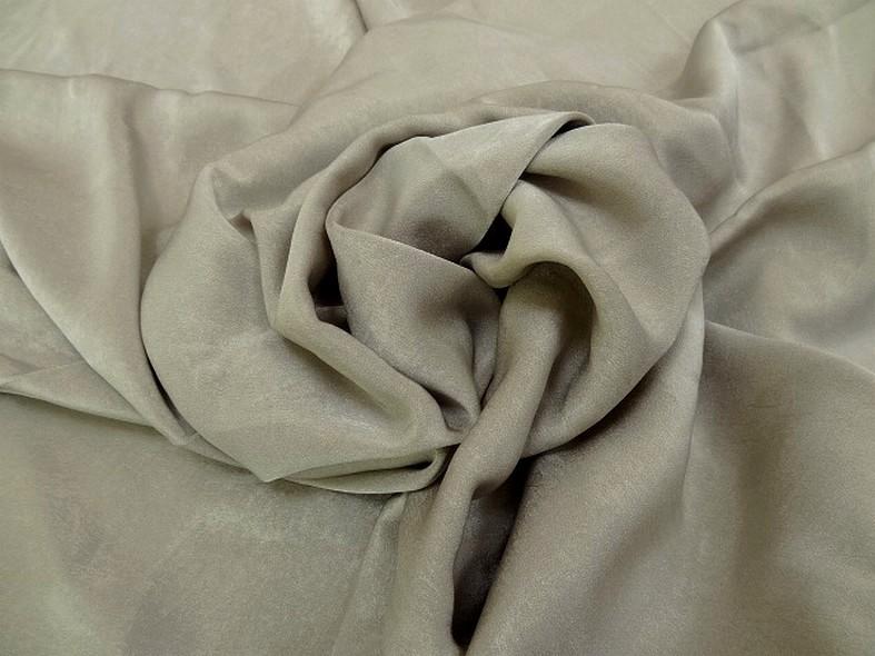 Tissu microfibre beige moire effet nacre