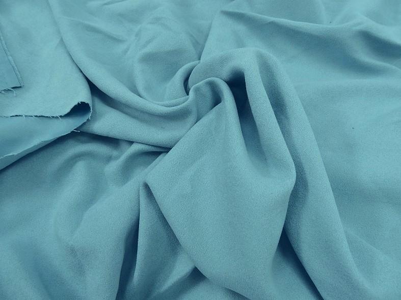 Tissu suedine bleu ciel 1