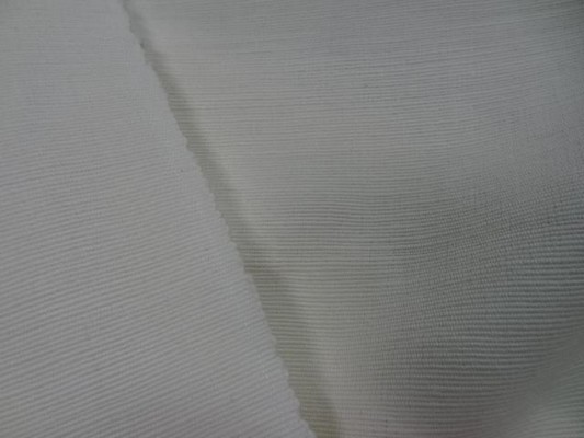 Toile coton blanche