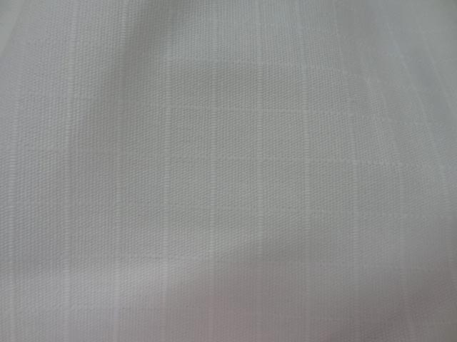 Toile coton faconnee quadrillee ton sur ton 2