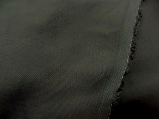 Toile coton lycra kaki gris8