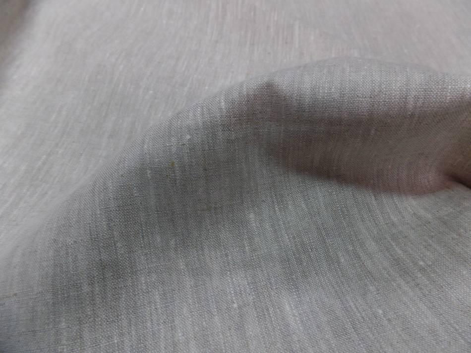 Toile de lin beige naturel chine5
