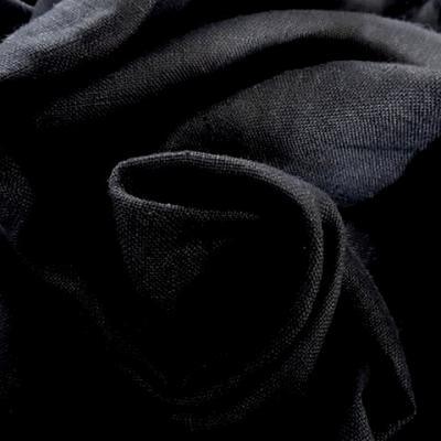 Toile de lin noire 1