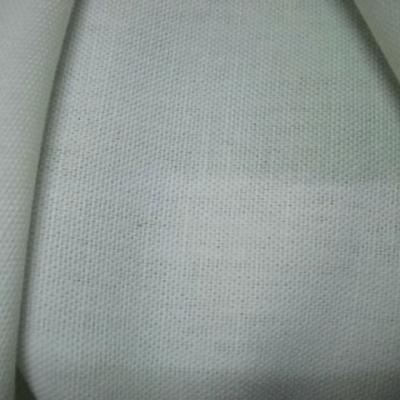 Toile legere coton blanc casse 1
