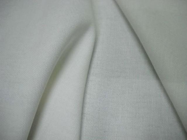 Toile legere coton blanc casse 3
