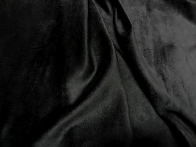 Velours eponge noir 1