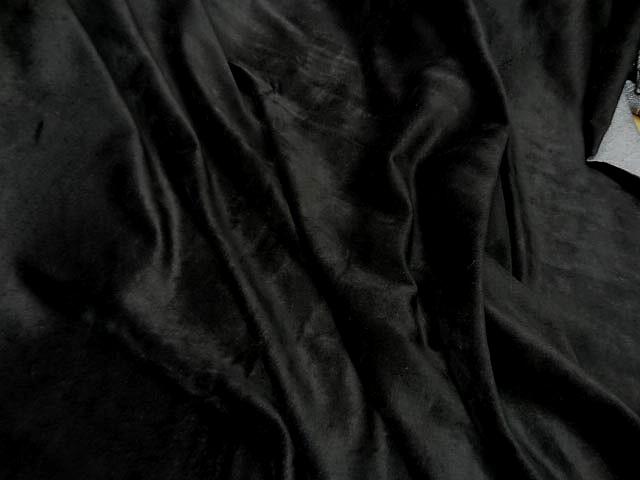 Velours eponge noir 2
