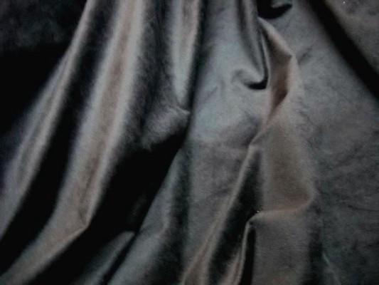 Velours gris ras