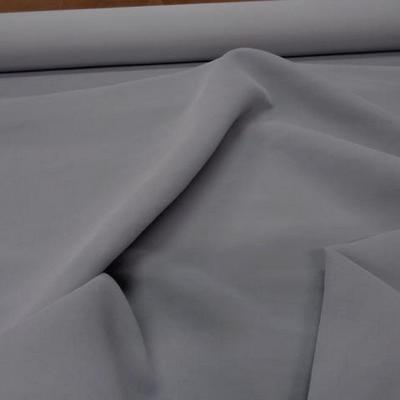 Velours haute couture gris clair