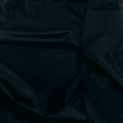Velours lisse bleu petrole fonce 2