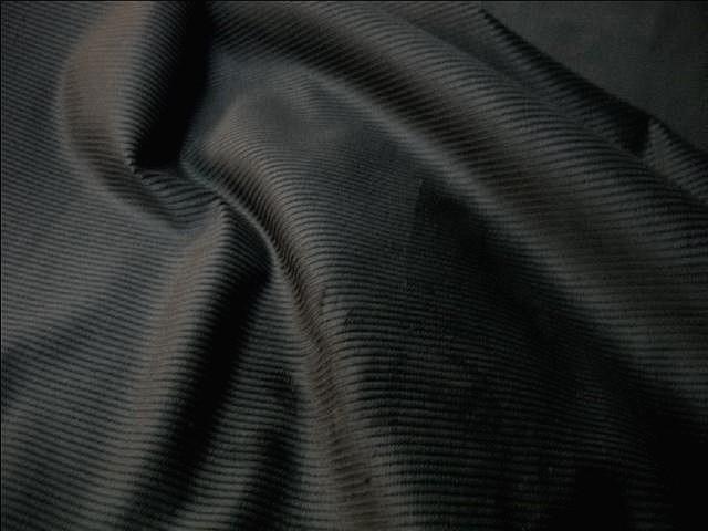 Velours lycra cotele noir 2