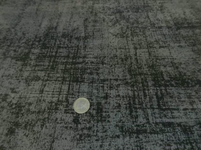 Velours lycra kaki brun effet d usure imprime 1