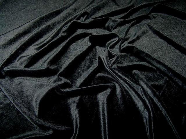 Velours lycra noir 3