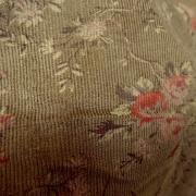 Velours milleraies marron mordore petites roses liberty 3