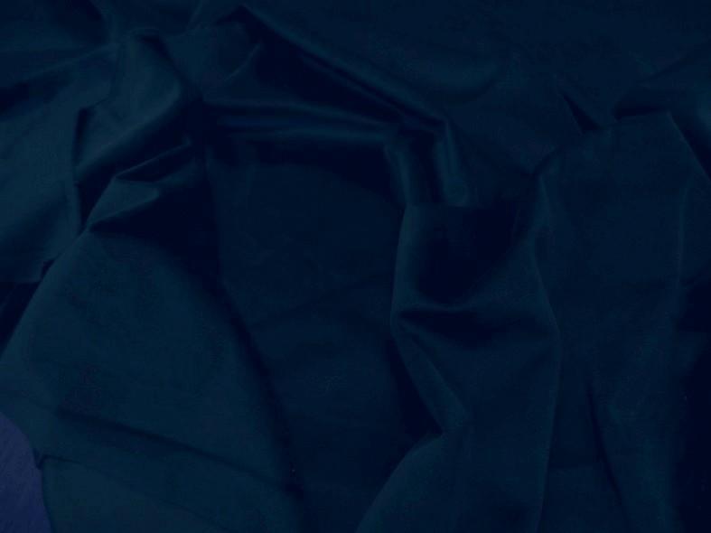 Velours ras d ameublement bleu petrole fonce 1