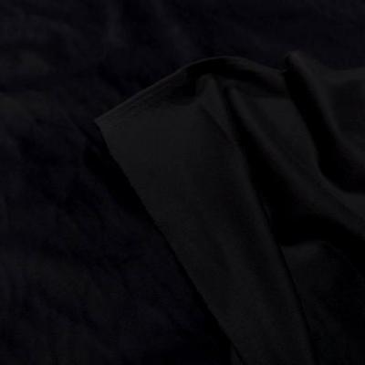 Velours ras d ameublement noir 5