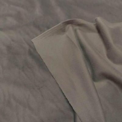 Velours ras d ameublement teinte gris tourterelle 2