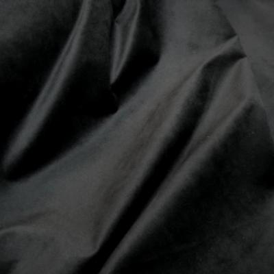 Velours raz noir