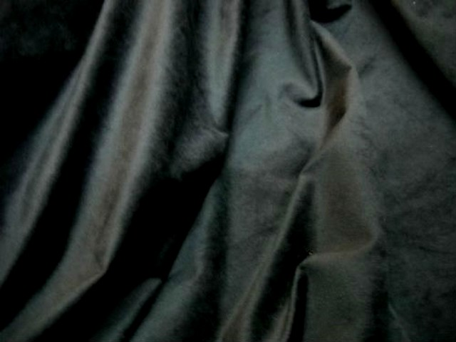 Velours raz noir2