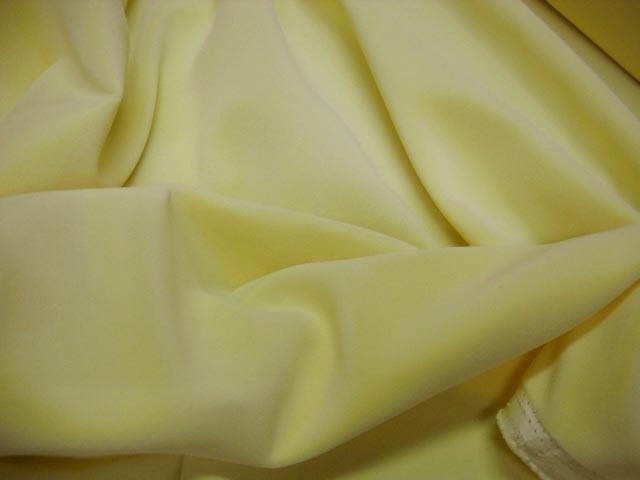 Velours tapissier jaune poussin 1