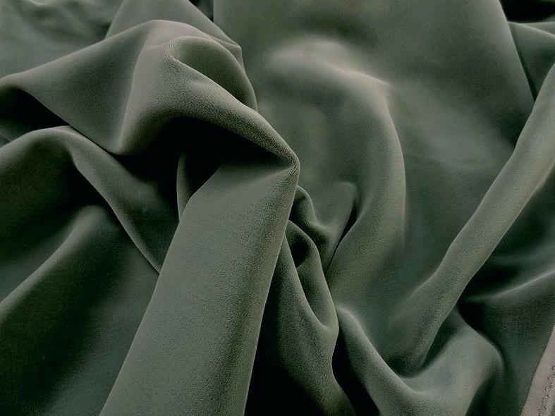 Velours viscose gris celadon 2