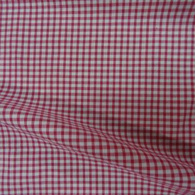 Vichy coton rose fuchia blanc