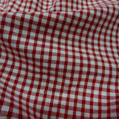 Vichy coton rouge blanc