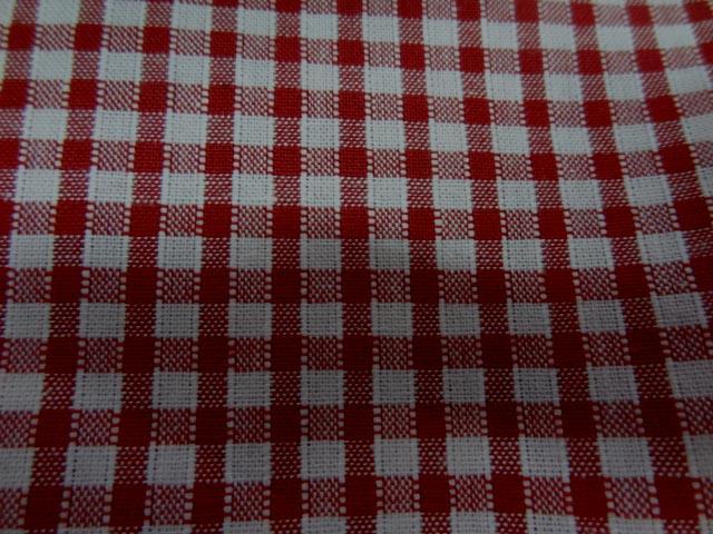 Vichy coton rouge blanc4