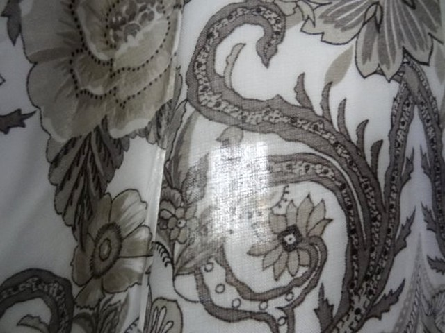 Viscose coton blanc et motifs taupe 04