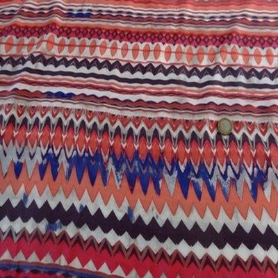 Viscose coton raye corail 1