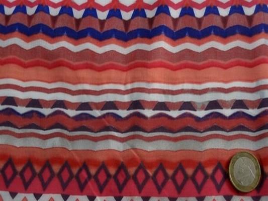 Viscose coton raye corail 2
