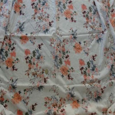 Voile coton chair fleur 01