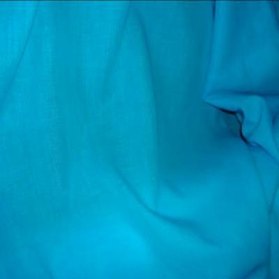 Voile coton bleu celeste 1