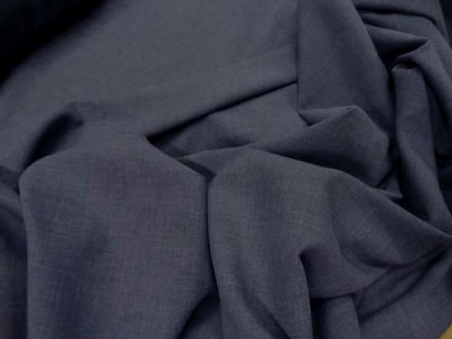 Voile coton bleu guede 2