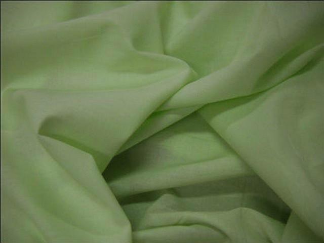 Voile coton vert d eau 1