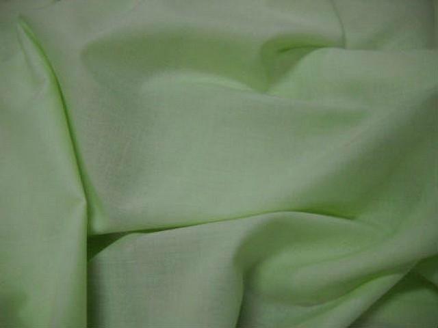 Voile coton vert d eau 2
