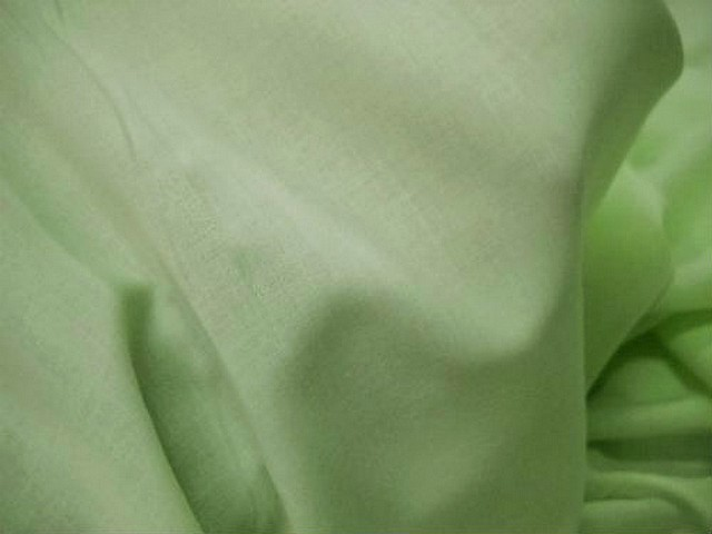 Voile coton vert d eau 3