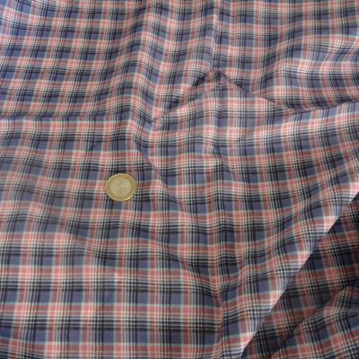 Voile coton écolier bleuet 1